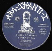 The Shanti-Ites - Horn Of Africa / Horn of Dub / SIDE B - Lightening / Dub (Aba Shanti-I) 12""